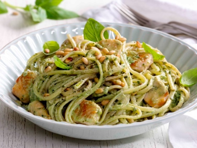 Chicken Pesto Linguine